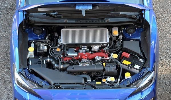 Motor del Subaru WRX STI