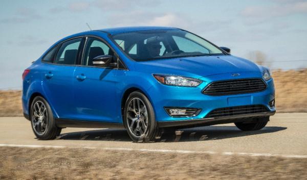 Ford Focus Sedan 2014 frontal