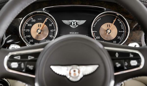 Bentley Hybrid Concept, listo para el Salón de Pekín 2014