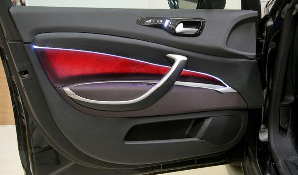 luz del panel de la puerta personalizable innovaciones psa