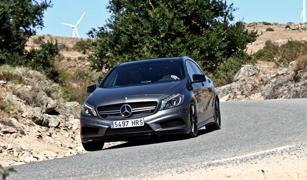 Mercedes A 45 AMG frontal