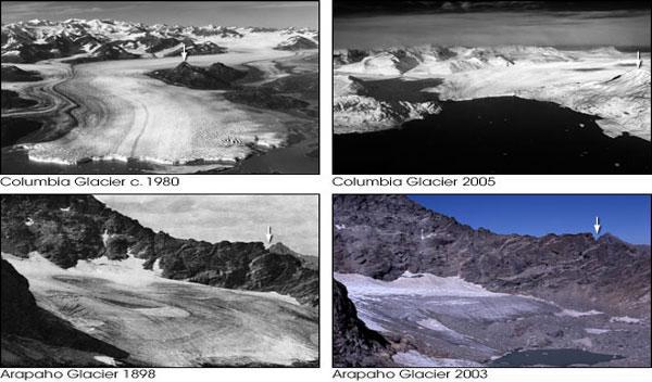 Algunos glaciólogos aseguran que el cambio climático ya es irreversible