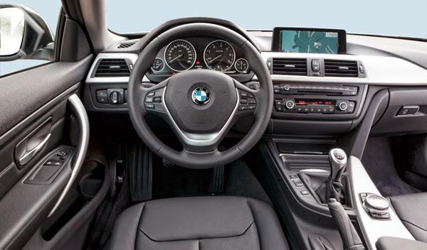 BMW 420d interior salpicadero
