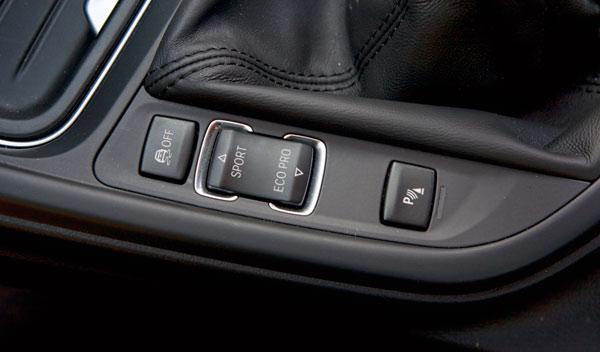 BMW 420d interior botones consola