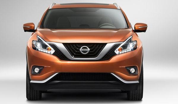 Nissan Murano 2015 frontal