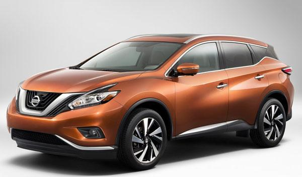 Nissan Murano 2015 tres cuartos delantero