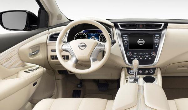 Nissan Murano 2015 interior