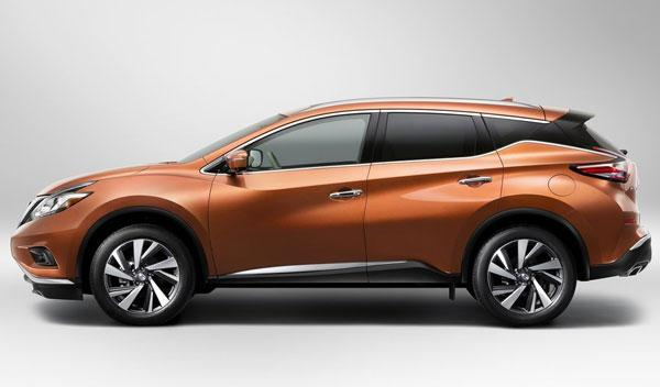Nissan Murano 2015 lateral