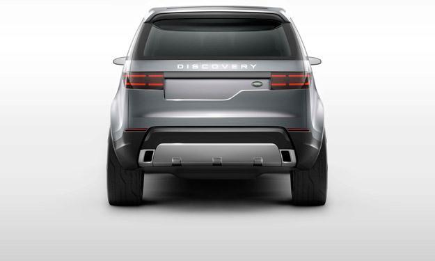 Land Rover Discovery Vision Concept zaga
