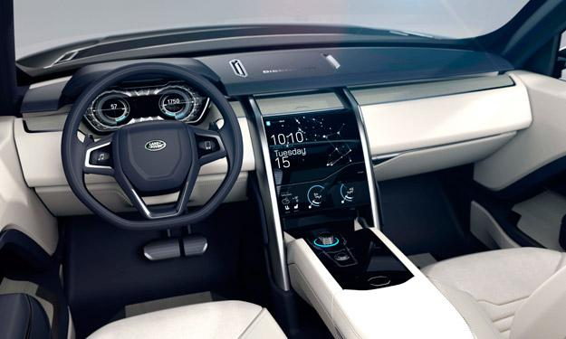 Land Rover Discovery Vision Concept interior