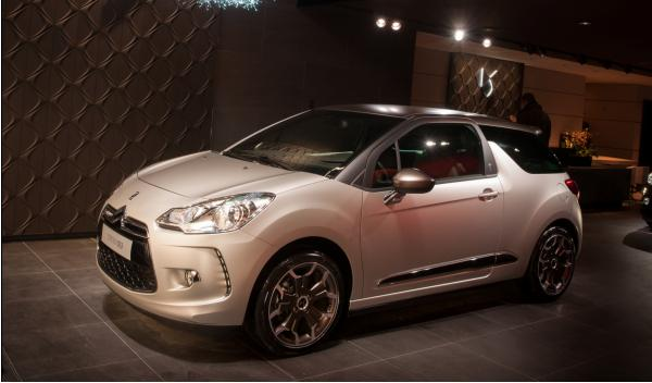 Citroen DS3 lateral