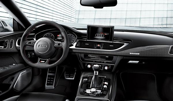 Audi RS Dynamic Edition interior