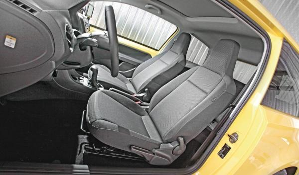 interior Skoda Citigo