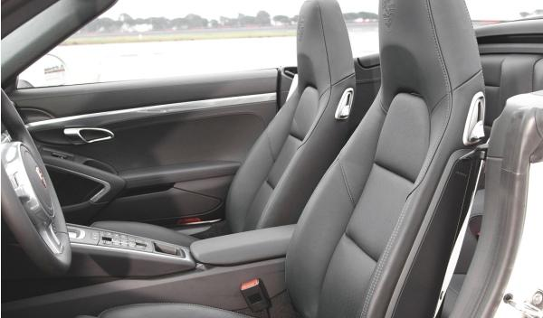 asientos Porsche 911 Carrera S Cabrio