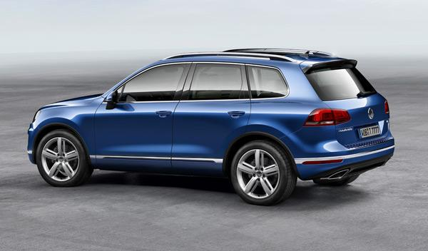 Volkswagen Touareg 2014 perfil