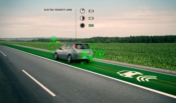 También es posible reservar carriles a coches eléctricos