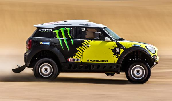 Mini ALL4 Racing desierto Nani Roma8
