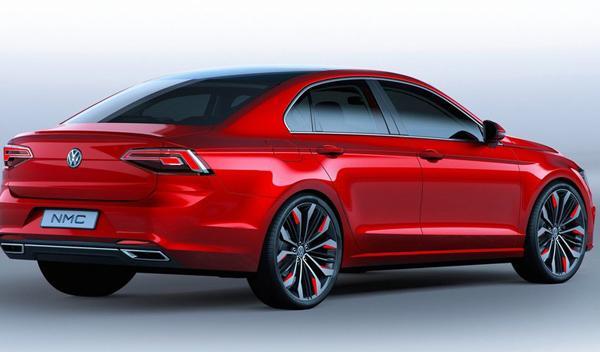Volkswagen Midsize Coupé Concept