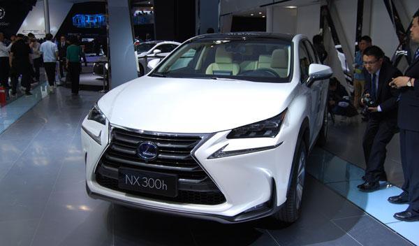 lexus nx 300 h salón de pekín 2014