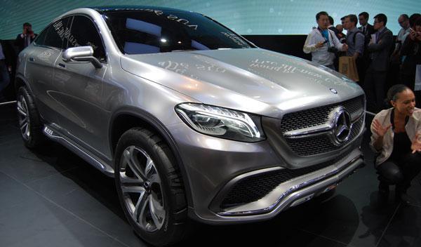 mercedes SUV Coupé concept salón de pekín 2014
