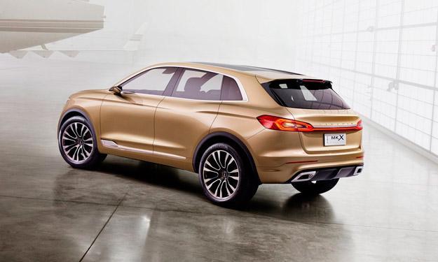 Lincoln MKX Concept trasera