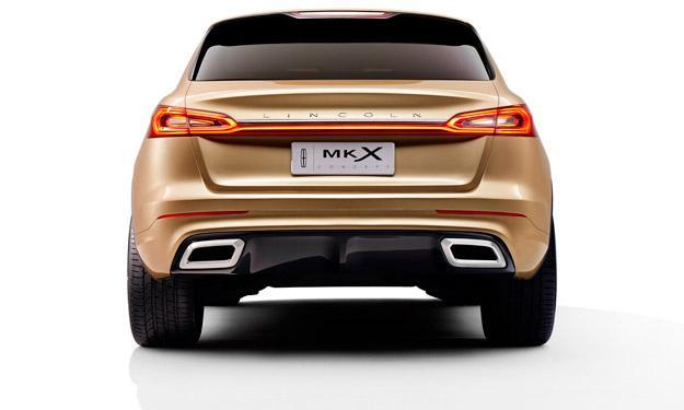 Lincoln MKX Concept zaga