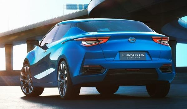 Nissan Lannia Concept trasera