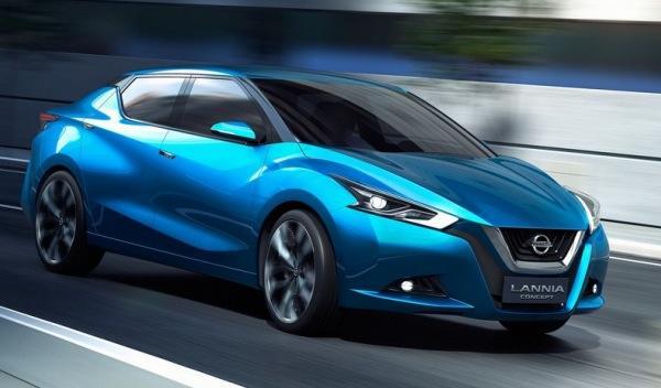 Nissan Lannia Concept en el Salón de Pekín 2014