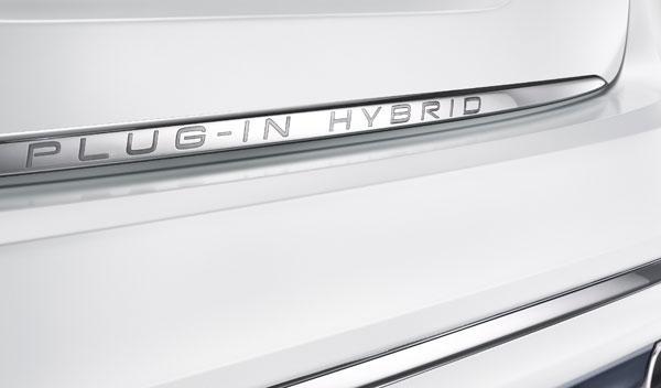 Volvo S60L híbrido detalle