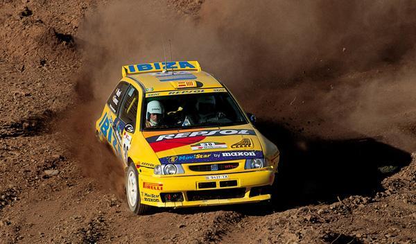 Versión de rally de Seat Ibiza