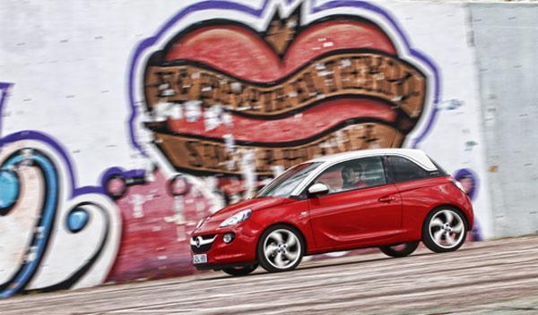 Lateral del Opel Adam