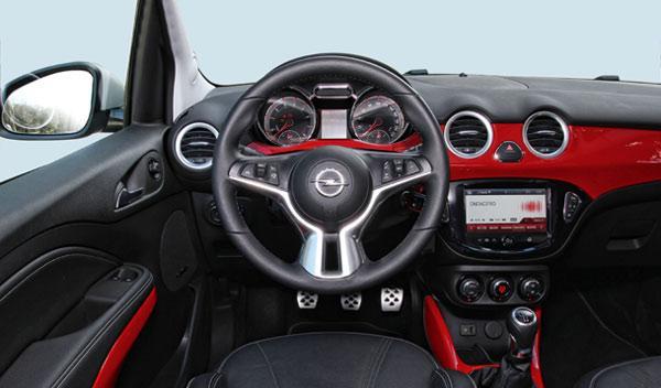Interior del Opel Adam
