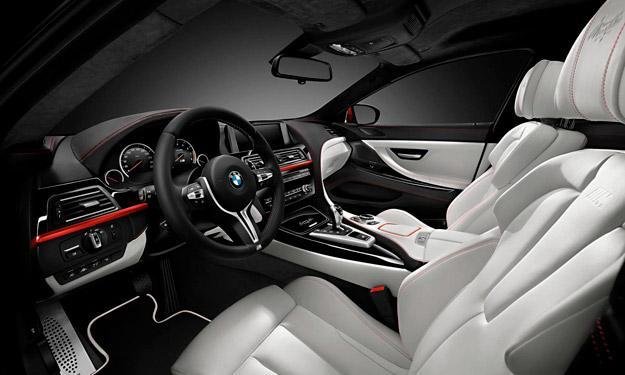 BMW M6 Gran Coupé Individual interior
