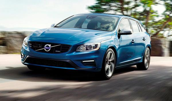 Volvo V60 Plug-in Hybrid R-Design frontal
