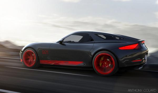 El Porsche 921: ¿un 928 moderno o un 911 Shooting Brake?