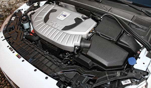 Volvo V60 Plug-in Hybrid motor