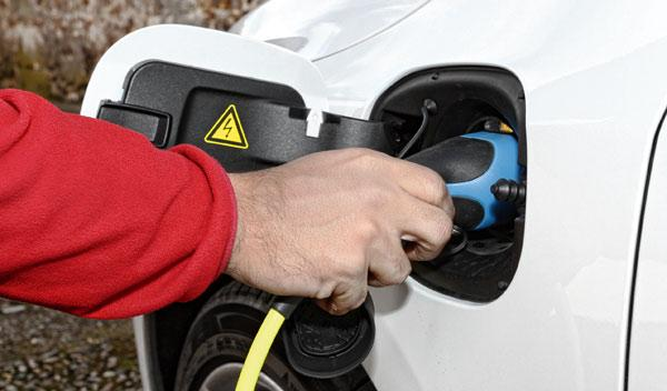 Volvo V60 Plug-in Hybrid enchufe