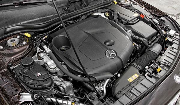 Mercedes GLA 220 CDI 4Motion motor