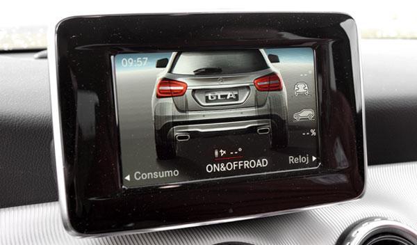 Pantalla interior Mercedes GLA 220 CDI 4Motion