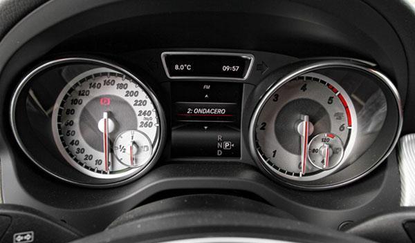 Cuadro de relojes Mercedes GLA 220 CDI 4Motion
