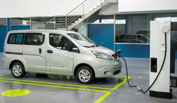 Nissan e-NV200 enchufe