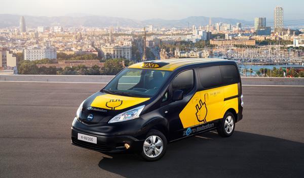 Nissan e-NV200 taxi barcelona