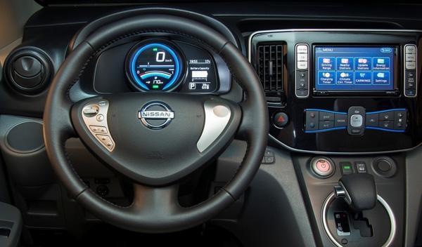 Nissan e-NV200 salpicadero