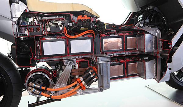 BMW C Evolution sistema eléctrico