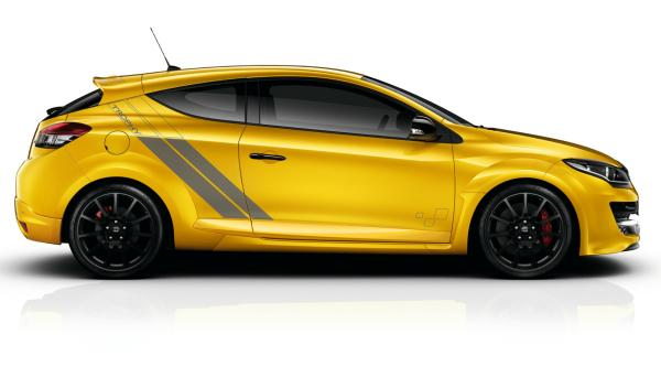 Renault Mégane RS 275 Trophy  lateral