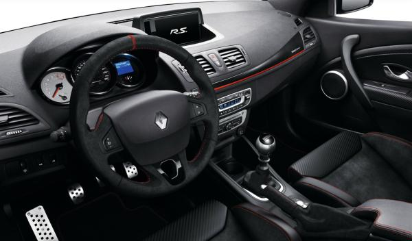 Renault Mégane RS 275 Trophy interior