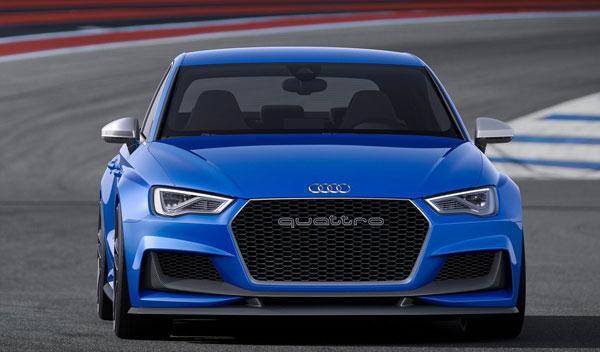 Audi A3 Clubsport quattro Concept delantera