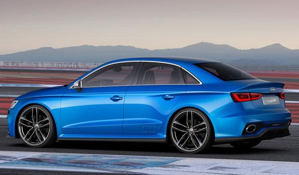 Audi A3 Clubsport quattro Concept lateral