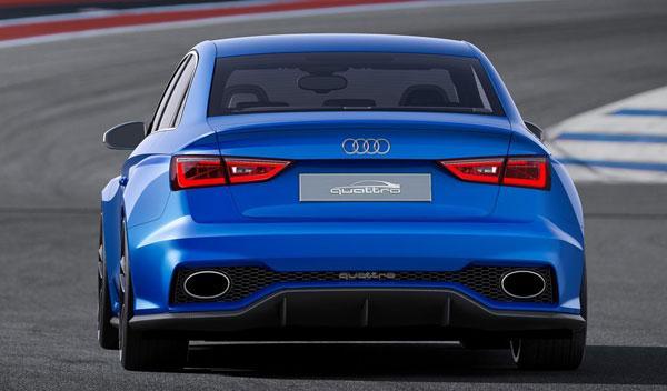Audi A3 Clubsport quattro Concept trasera