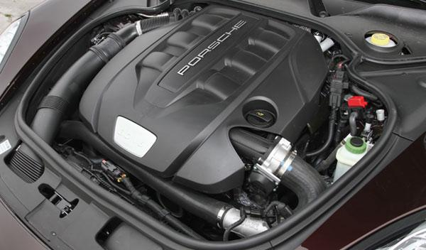 Motor del Porsche Panamera Diesel